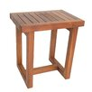 Aqua Teak Spa Teak Shower Stool