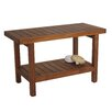 Aqua Teak Spa Teak Shower Bench