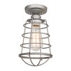 Design House Ajax 1 Light Semi Flush Mount