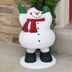 Snowman Bobble Statue - Design House Garden Statues and Outdoor Accents