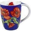Konitz 11 oz. Poppy Blossom Mug (Set of 4)