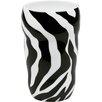 Konitz 11 oz. Zebra Double Walled Grip Mug (Set of 2)