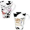 Konitz Mr. and Mrs. Latte Mac Chiato 13 oz. Mugs 2 Piece Set