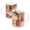 Konitz Knowledge History of Music Mug (Set of 2)