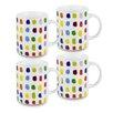 Konitz Splash of Color 12 Oz. Mug (Set of 4)