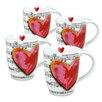 Konitz Love Song Mug (Set of 4)