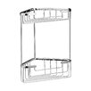 Ultra Wirework Corner Metal Wall Mounted Shower Caddy