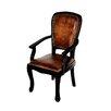 MOTI Furniture True Leather Arm Chair