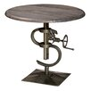 MOTI Furniture Adjustable Height Pub Table
