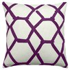 Judy Ross Textiles Jalli Wool Throw Pillow