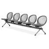 OFM Net Series Five Chair Beam Seating