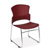 OFM Multi-Use Plastic Stacking Chair (Set of 4)