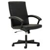 OFM Mid-Back Executive Office Chair with Fixed Curved Loop Arms
