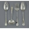 Ginkgo Windsor Shell 4 Piece Flatware Set