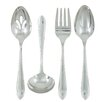 Ginkgo Starlight 4 Piece Stainless Hostess Set