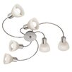 Nino Leuchten Daytona 6 Light Flush Ceiling Light