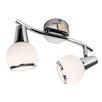 Nino Leuchten Volles Schienenbeleuchtungsset 2-flammig Loris