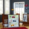 Laugh, Giggle & Smile My Little Town 9 Piece Crib Bedding Set