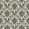 """York Wallcoverings Waverly Small Prints Bedazzled 33' x 20.5"""" Damask Wallpaper"""