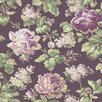 "York Wallcoverings Riverside Park Rose 33' x 20.5"" Floral and Botanical Wallpaper"