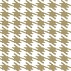"York Wallcoverings Risky Business Jackie-Oh 33' x 20.5"" Geometric Wallpaper"