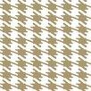 "York Wallcoverings Risky Business Jackie-Oh 33' x 20.5"" Geometric Wallpaper"