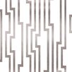 """York Wallcoverings Candice Olson Shimmering Details 33' x 20.5"""" Abstract Foiled Wallpaper"""