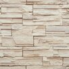 "York Wallcoverings Modern Rustic 33' x 20.8"" Travertine Trompe L'oeil Wallpaper"