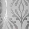 "York Wallcoverings Candice Olson Inspired Elegance 33' x 20.5"" Abstract Foiled Wallpaper"