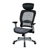 """Office Star Products Space 22.5"""" Chair with Headrest"""