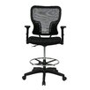 Safco Products Height Adjustable Drafting Chair With