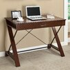 Office Star Products Inspired by Bassett Computer Desk with Keyboard Tray