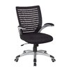 Office Star Products Screen Back High-Back Mesh Conference Chair with Arm