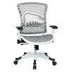 "Office Star Products Pulsar 22.75"" Deluxe Mesh Task Chair with Adjustable Flip Arms"