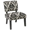 Office Star Products Jasmine Accent Chair in Paradise