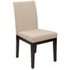 Office Star Products Ave Six Dakota Side Chair in Beige