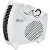 Comfort Zone 1,500 Watt Portable Electric Dual-Position Fan Heater