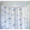 Wenko Round Plastic Shower Curtain Rail