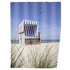 Wenko Beach Chair Shower Curtain