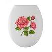 Wenko WC-Sitz Rose-Romance länglich