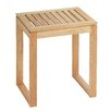 Wenko Norway Wood Free Standing Bathroom Stool