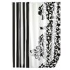 Wenko Ornamento Nero Shower Curtain