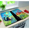 Wenko Cats in the Meadow Universal Kitchen Cover (Set of 2)
