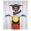 Wenko Biker Dog Shower Curtain (Set of 2)