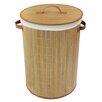 JVL Cylinder Laundry Basket