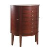 Powell Furniture Demi Jewelry Armoire with Mirror