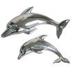 Katigi Designs 2 Piece Dolphin Wall Decor Set