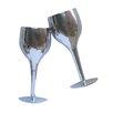 Katigi Designs Toasting Wine Glasses Graphic Art