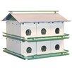 16 inch x 19.5 inch x 19.5 inch Purple Martin House - Erva Birdhouses