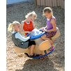 Little Tikes Commercial Four Seat Teeter with Bubble Top